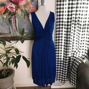 Boden cobalt blue jersey stretch dress Size 8 T14